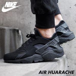 "NIKE Air Huarache ""Black Out"" Sneakers"